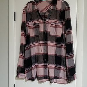 Maurices flannel shirt.